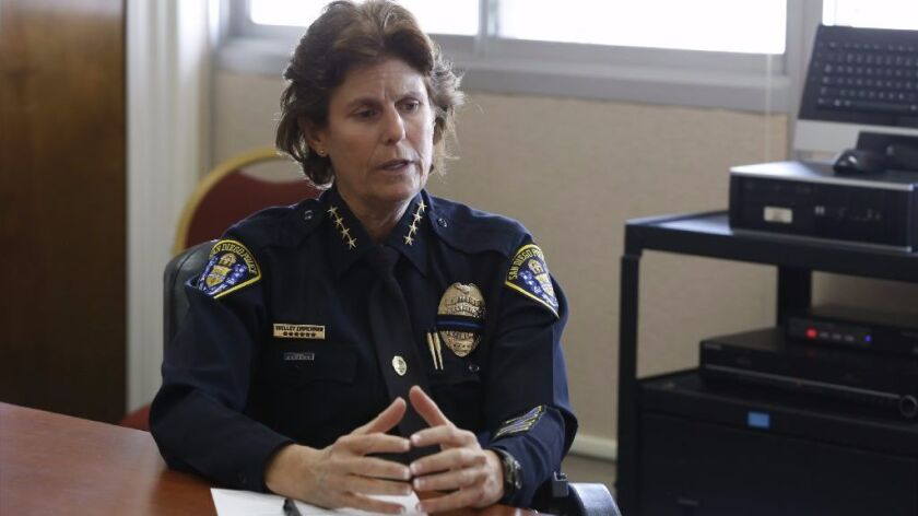 San Diego Police Chief Shelley Zimmerman.