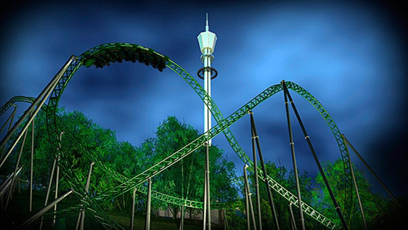 The Projekt Helix coaster is coming to Sweden's Liseberg.