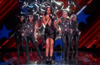 Selena Gomez sizzles at Victoria's Secret Fashion Show; slams lip-sync skeptics