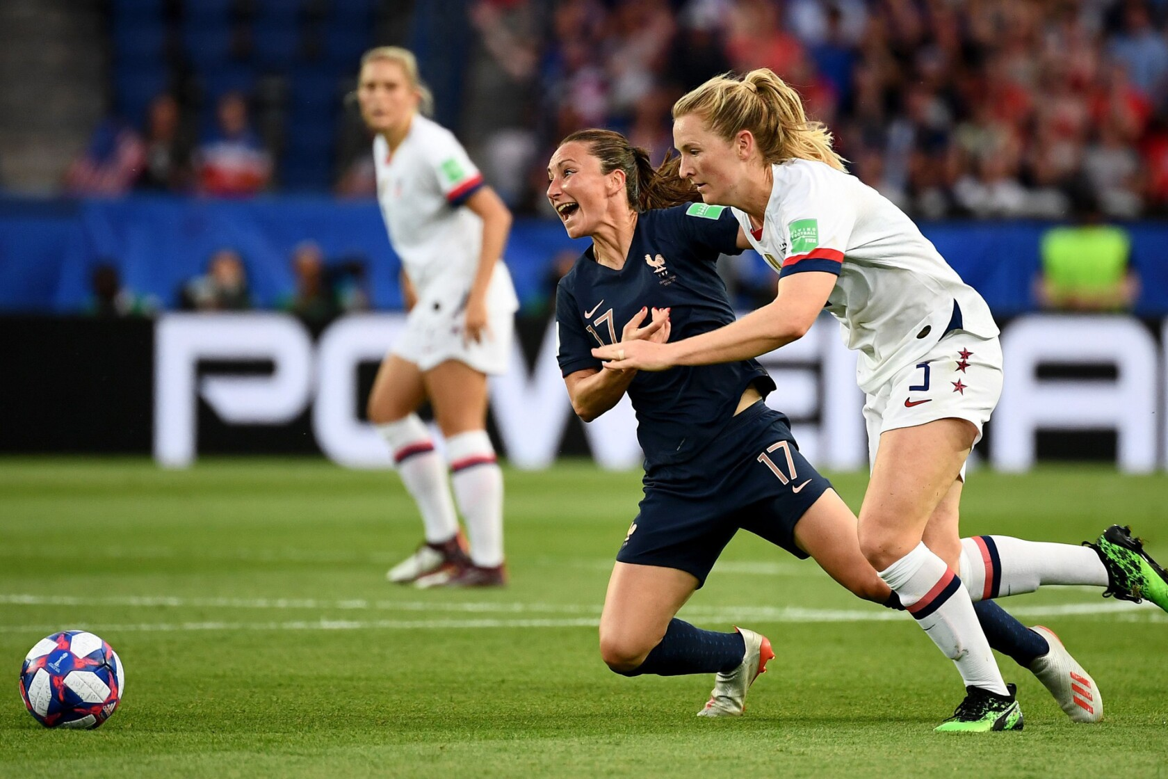 Women's World Cup recap: U S  beats France 2-1 on two Megan
