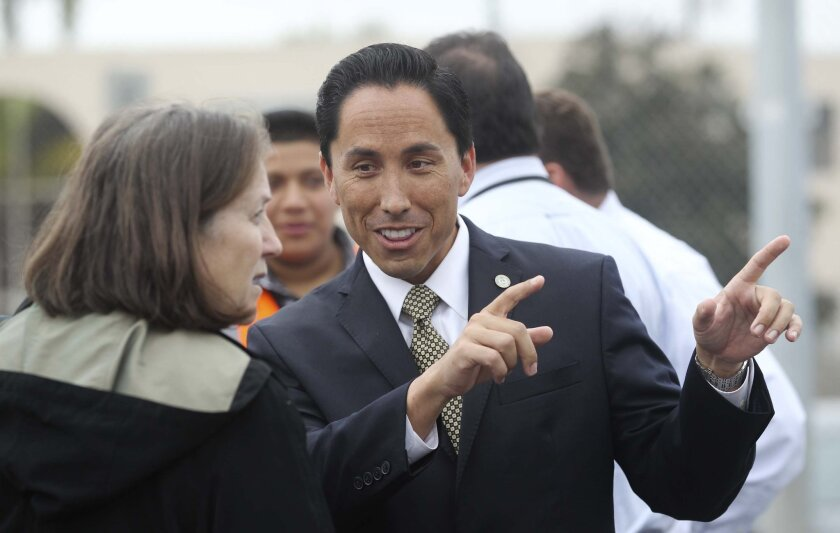 Assemblyman Todd Gloria raised more than $293,000 for his statehouse reelection without formally declaring his candidacy. On Thursday, a San Diego Superior Court refused to issue an order restraining him from spending those funds on his mayoral campaign.