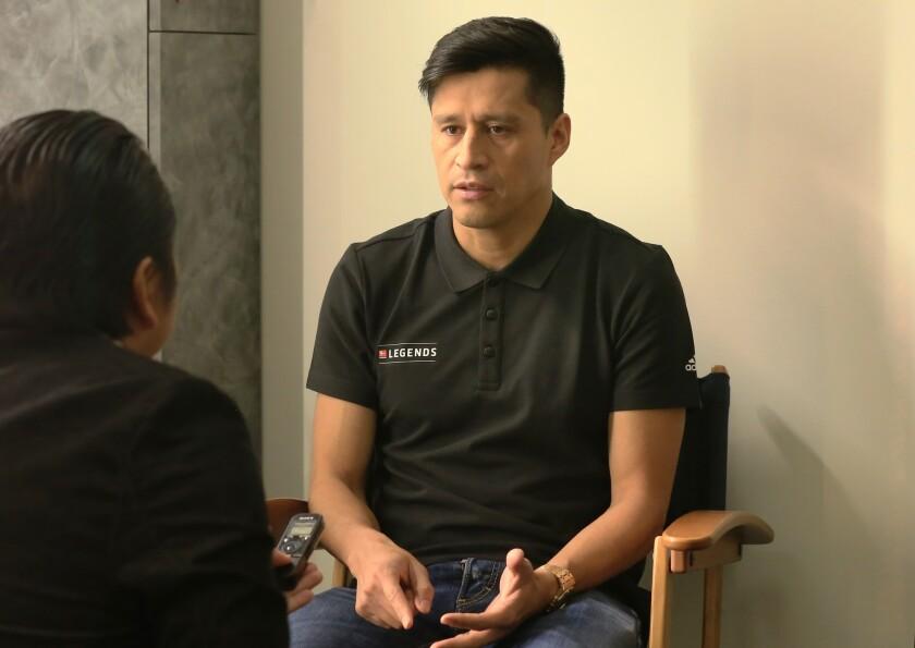 Ricardo Osorio, del Tri mexicano, habla con HOY Deportes en las oficinas de FOX Deportes.