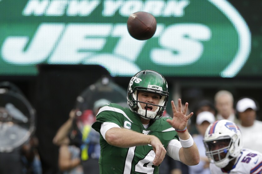 Jets Darnold Football
