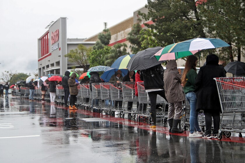 To help slow the spread of the novel coronavirus, Burbank officials have issued new social distancing rules for businesses to follow when it comes to allowing customers to line up before entering a store.