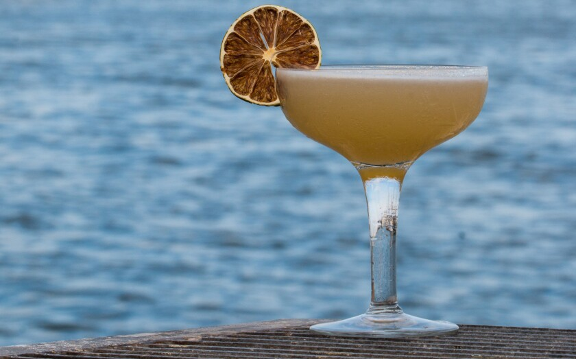 The Point Loma cocktail was created by Jennifer Welsh for George's Level2 in La Jolla.