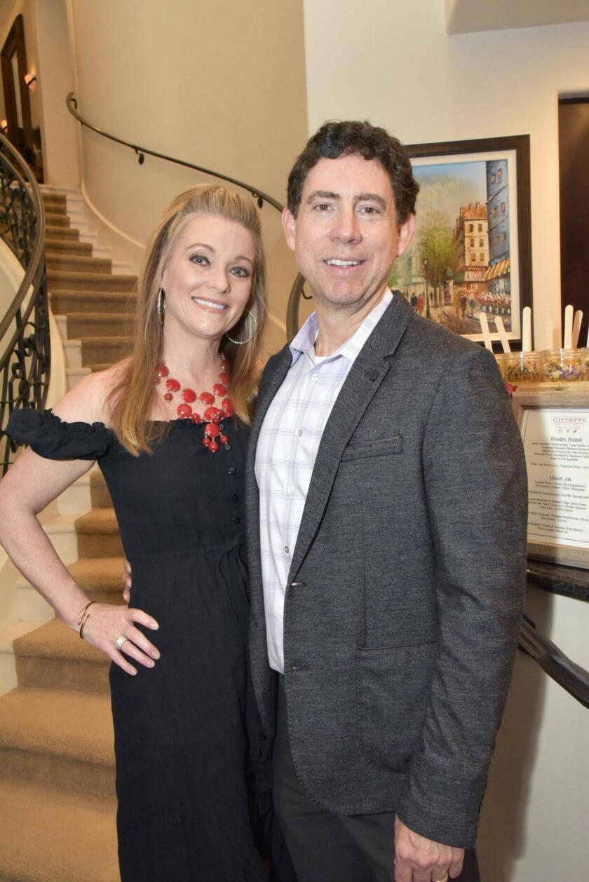Hosts Dawn and Ralph Birchmeier