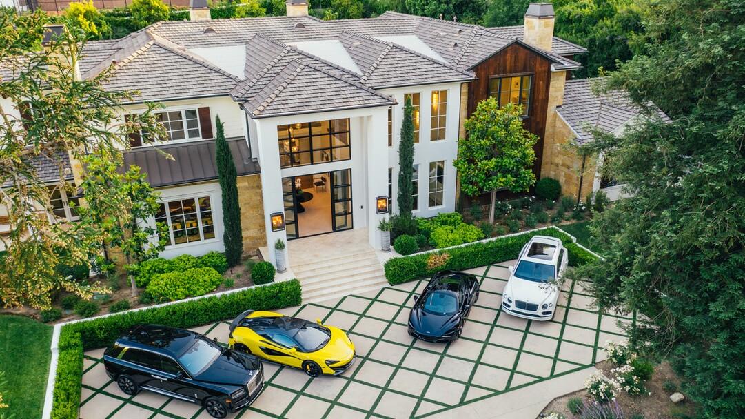The Weeknd's Hidden Hills mansion