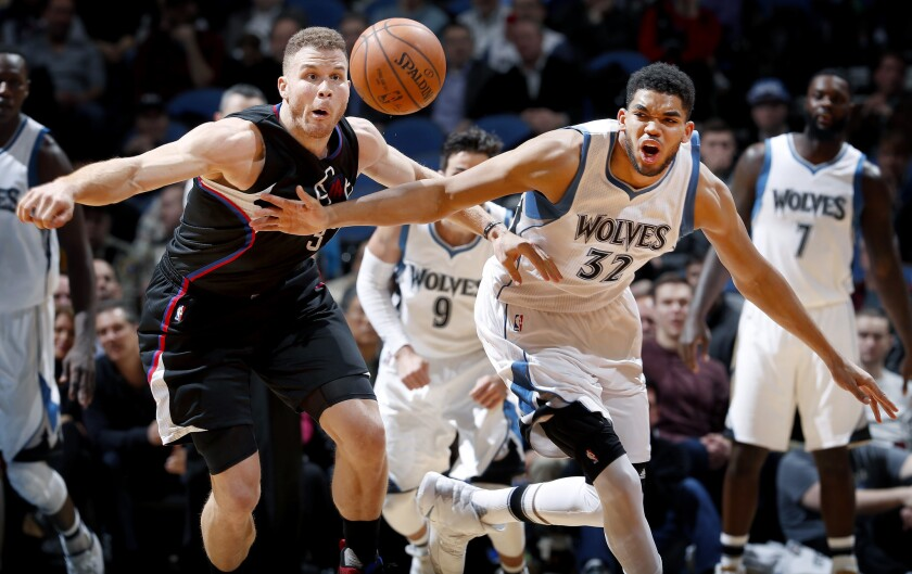 Blake Griffin, Karl-Anthony Towns