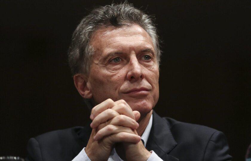 Macri in Argentina