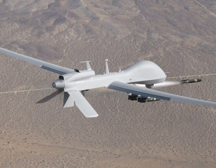 San Diego's General Atomics Aeronautical Systems has prospered by developing such unmanned air systems as the Gray Eagle.