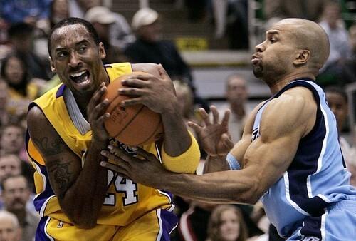 Kobe Bryant, Derek Fisher