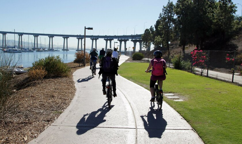 Certain Coronado residents have had enough of bike lanes. [U-T file]