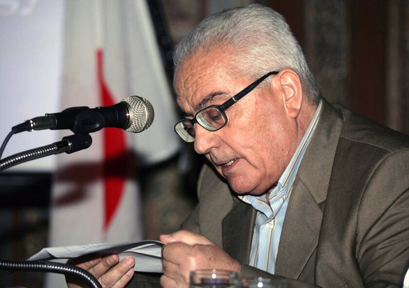 Khaled Asaad, shown in an undated photo, was beheaded in a square outside Palmyra's museum, according to Syrian state news agency SANA and the Britain-based Syrian Observatory for Human Rights.