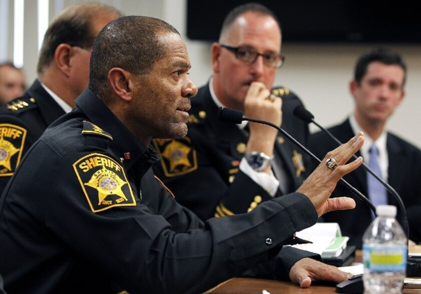 Milwaukee County Sheriff David A. Clarke Jr. has called on residents to arm themselves against criminals.