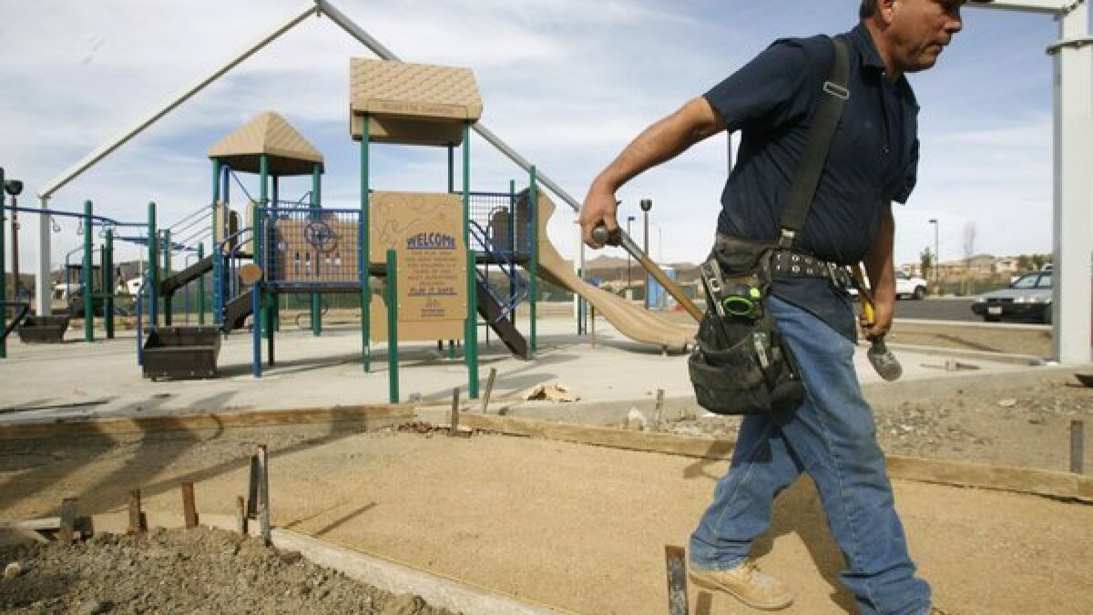 LAKE ELSINORE: Rosetta Canyon Park nearing completion - The