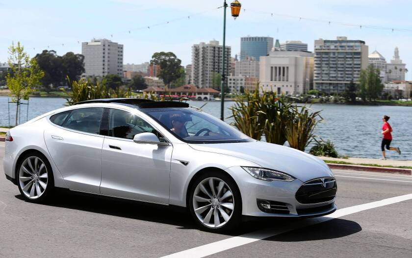 """Backers of the legislation to create a """"Made in California"""" label include electric-car maker Tesla Motors Inc., a group of San Francisco Bay Area green-tech firms and small-business advocates. But some business leaders see problems ahead for the concept."""