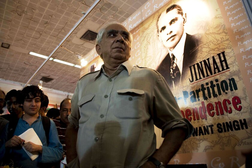 "Jaswant Singh attends an event in New Delhi to promote his book, ""Jinnah: India, Partition, Independence,"" in 2009."