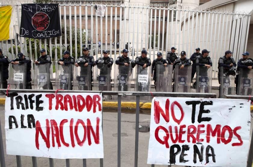 Mexico's Enrique Peña Nieto officially declared election winner