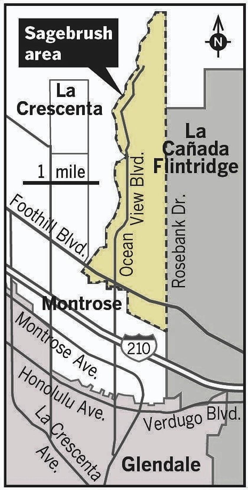 Sagebrush map