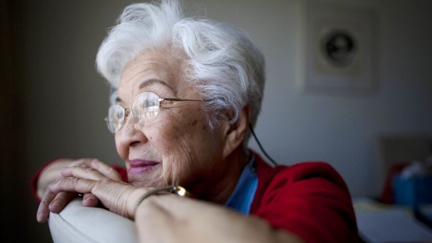 When she was a teenager, Aiko Herzig-Yoshinaga was removed from her Los Angeles High School senior class and imprisoned in an internment camp during World War II.