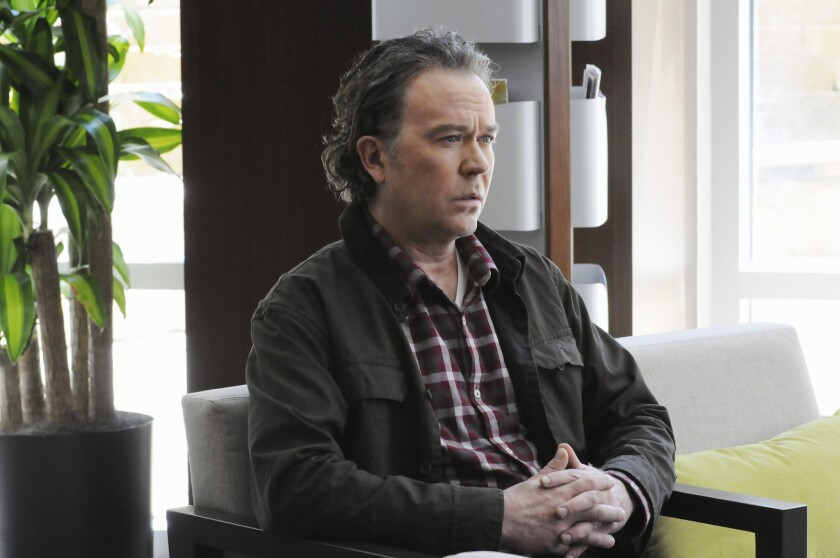 "In ""American Crime,"" Timothy Hutton plays Russ, a former gambler struggling with stability."
