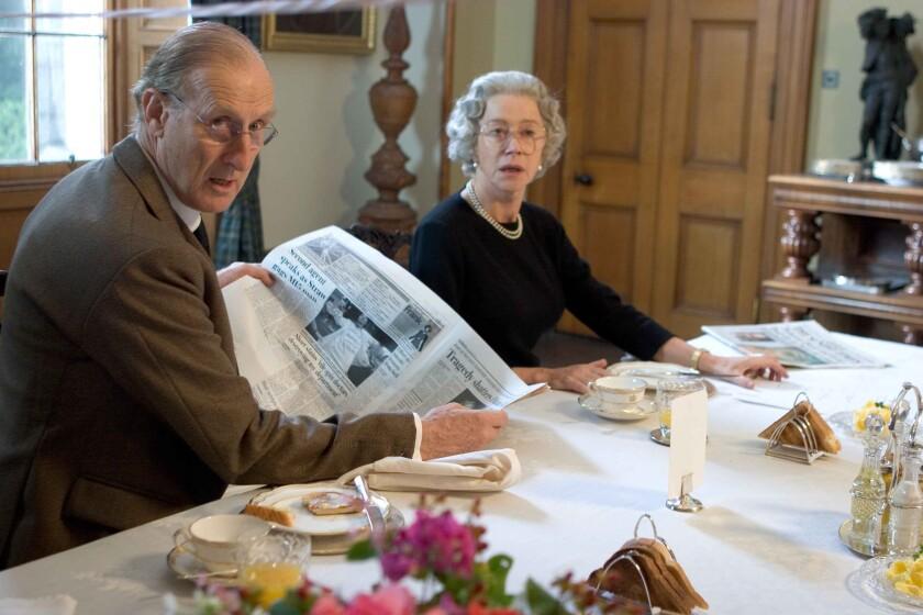 """James Cromwell and Helen Mirren in """"The Queen"""""""