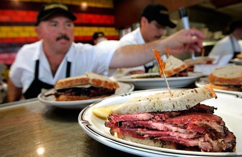 "Langer's pastrami sandwich ""encapsulates perfection,"" author David Sax says."