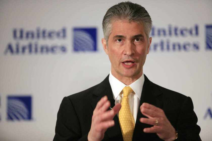 """Jeff Smisek, former CEO of United Continental Holdings, is receiving nearly $37 million in a separation package that includes a car, free parking and """"flight benefits."""""""