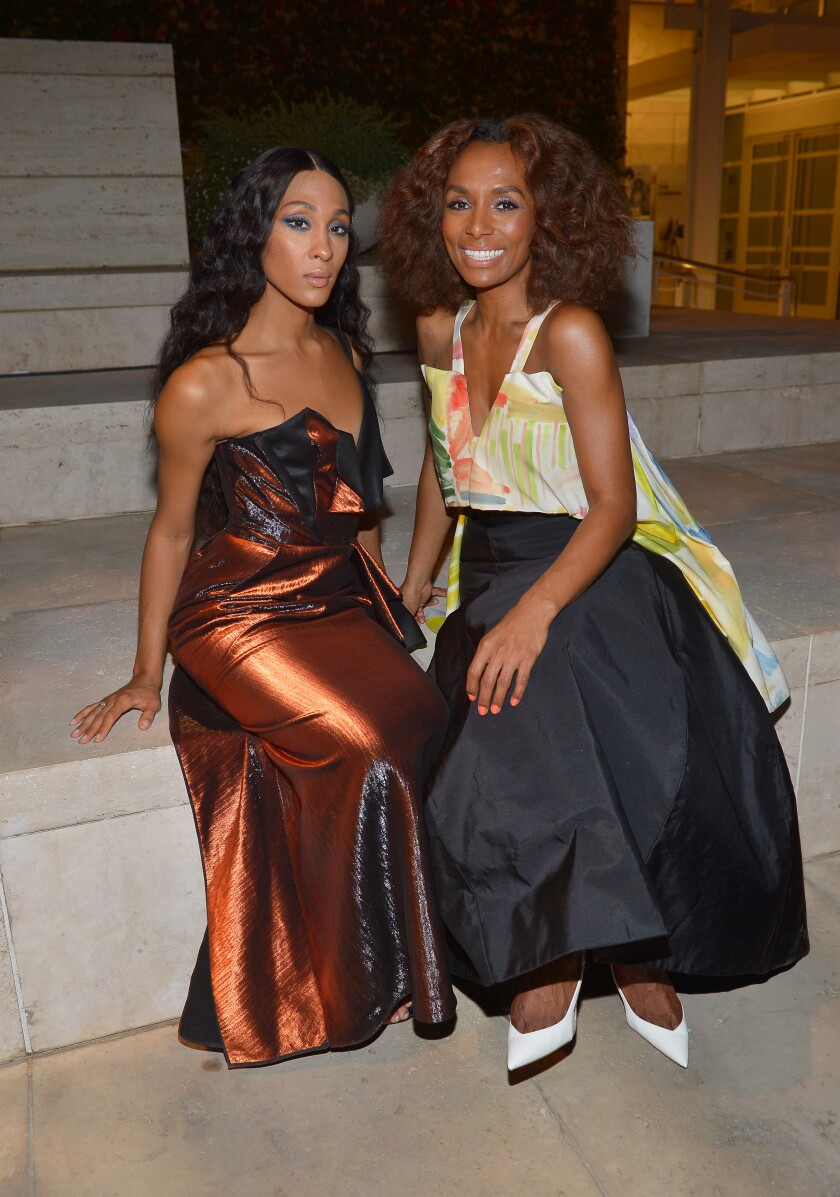 Mj Rodriguez and Janet Mock