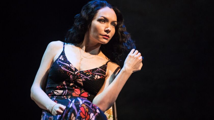 "Katrina Lenk performs in ""The Band's Visit."" Credit: Matt Murphy"