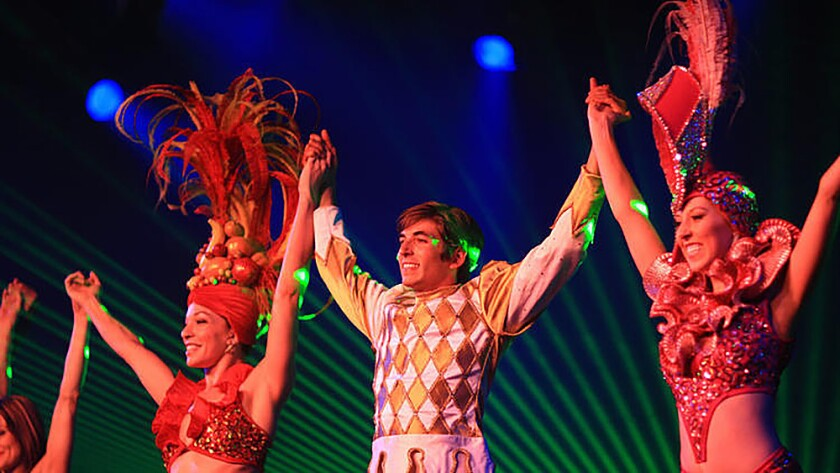 """Carnaval Fantastique"" at Sycuan Casino."