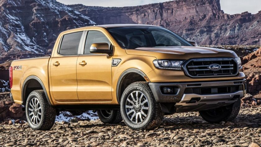 Ranger is designed for today's midsize truck buyer who blends city living with off-the-grid advent