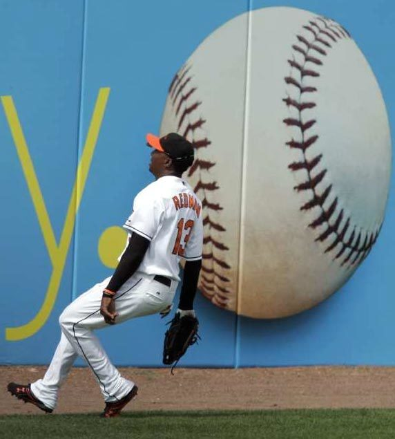 Tike Redman--baseball opener