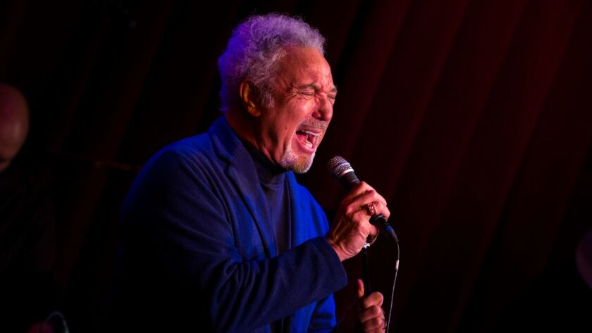 Grammy-winning artist Tom Jones is seeking $8 million for his lavish villa in guard-gated Mulholland Estates.