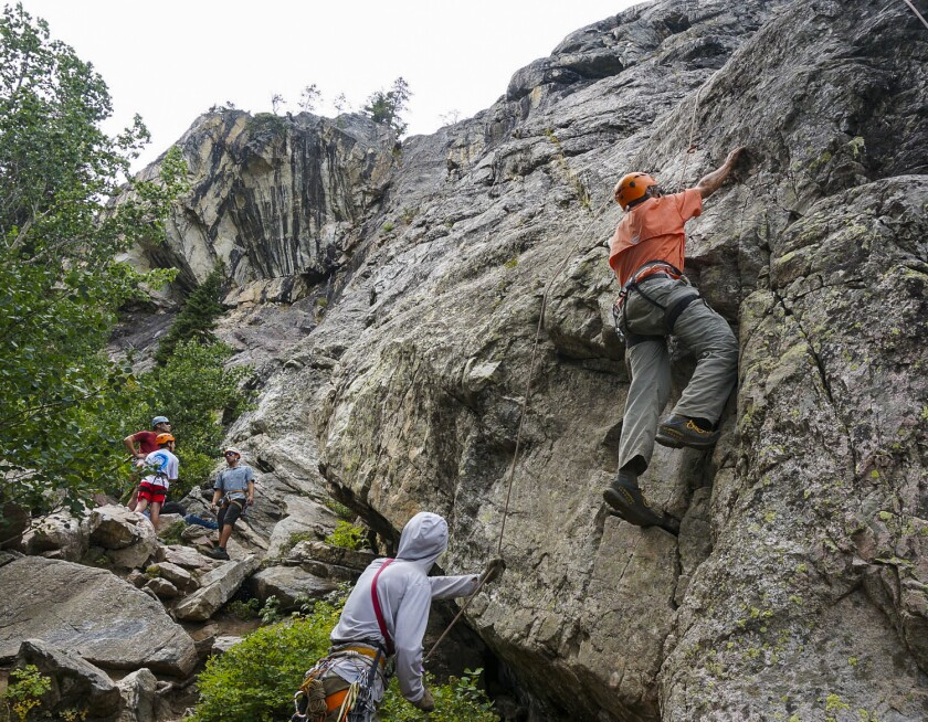Wyoming's Grand Teton is one high mountain to climb