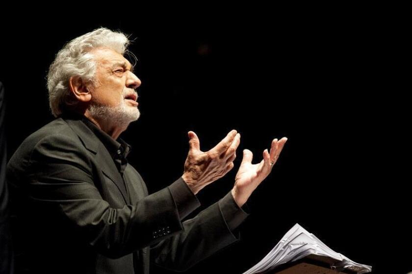 El tenor español Plácido Domingo se presentará el próximo 17 de octubre durante el Festival Revueltas a celebrarse en el norteño estado mexicano de Durango, anunció hoy el gobernador José Rosas Aispuro. EFE/ARCHIVO