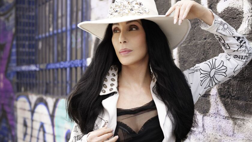 For Mikael Wood Sunday Calendar story. Publicity photo of Cher. Photo credit: Machado Cicala