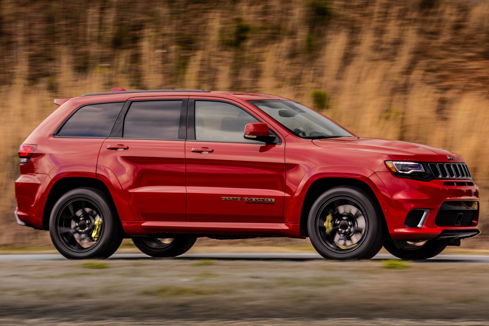 2018 Jeep Grand Cherokee >> Review 2018 Jeep Grand Cherokee Trackhawk Powerful And