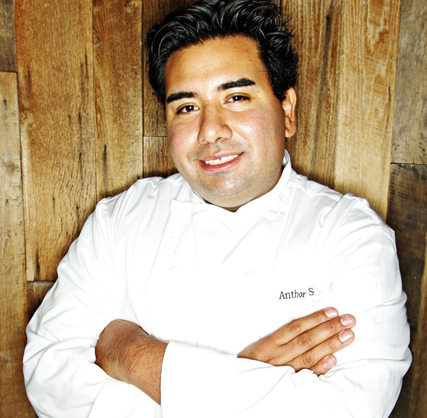 Anthony Sinsay is the new dining room chef at Jake's Del Mar.