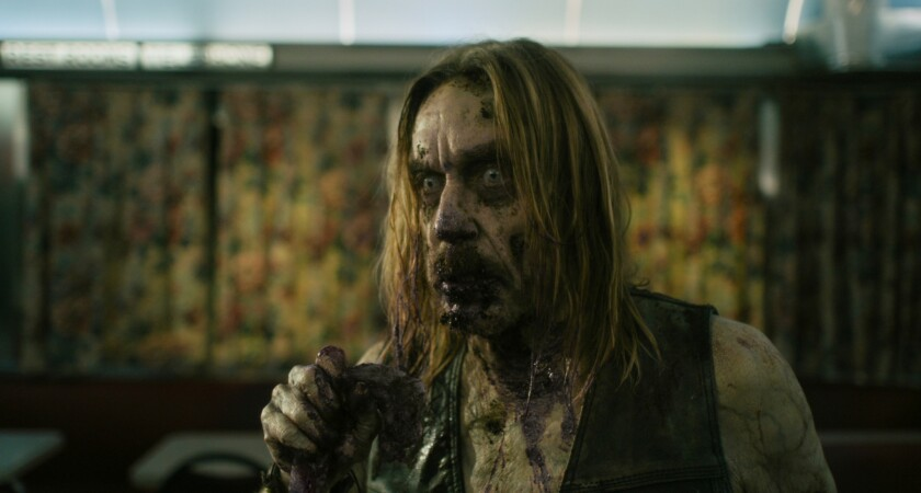 "Iggy Pop stars as ""Male Coffee Zombie"" in writer/director Jim Jarmusch's ""THE DEAD DON'T DIE,"" a Foc"