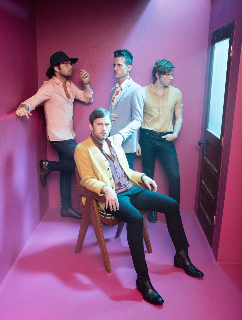 A photo of KAABOO headliner Kings of Leon