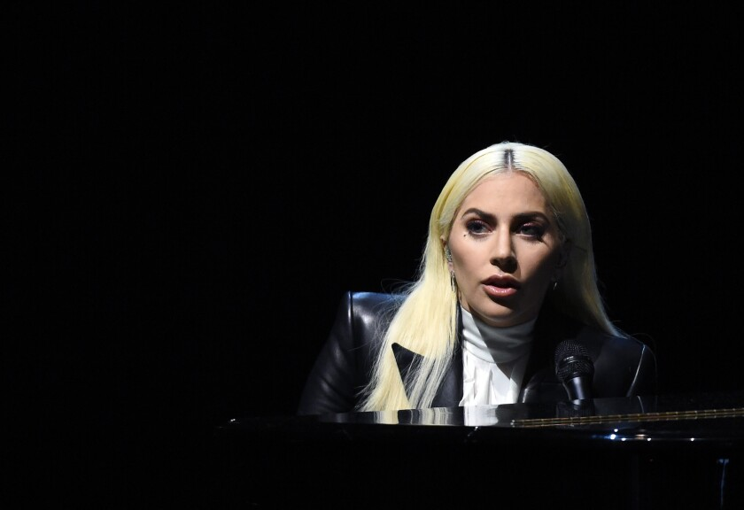 Singing sensation Lady Gaga will be among  the performers gracing the stages of Las Vegas resorts over the holiday weekend.