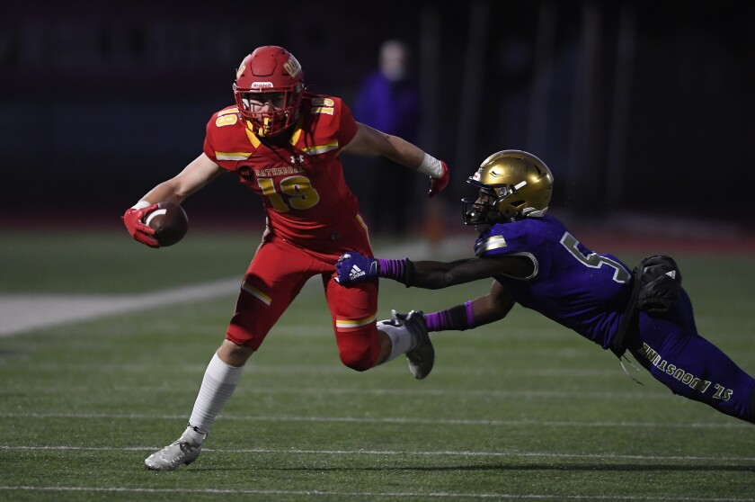 Cathedral Catholic High vs St. Augustine High football.