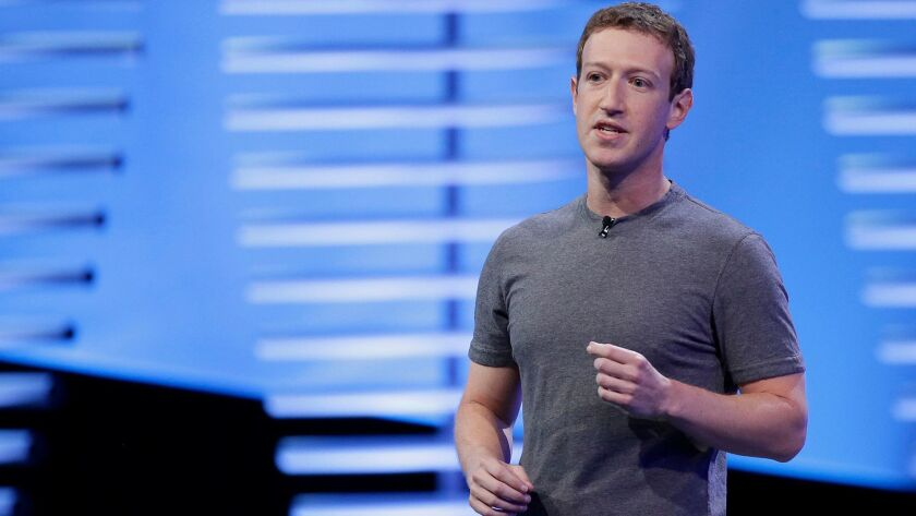 Facebook CEO Mark Zuckerberg speaks at last year's F8 Facebook Developer Conference in San Francisco.