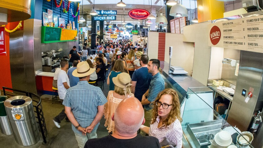 Grand Central Market is going to be even more crowded once Golden Road Brewing joins.