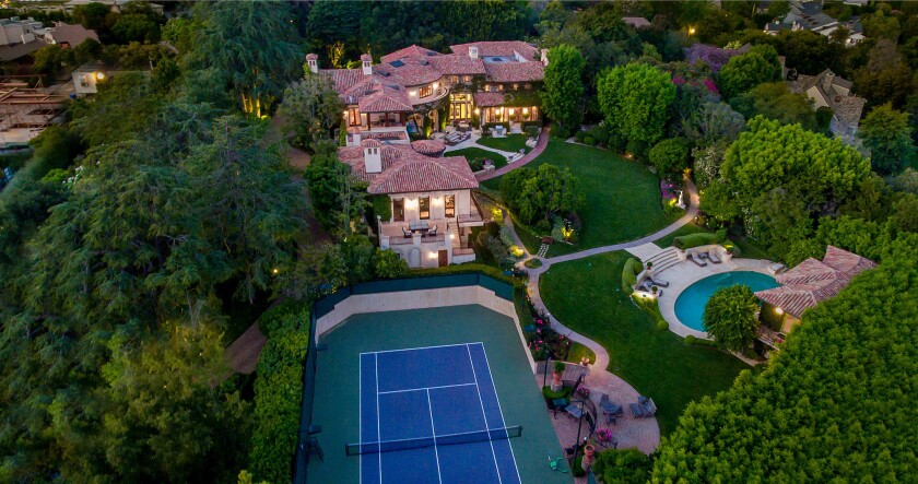 Sugar Ray Leonard's Palisades villa
