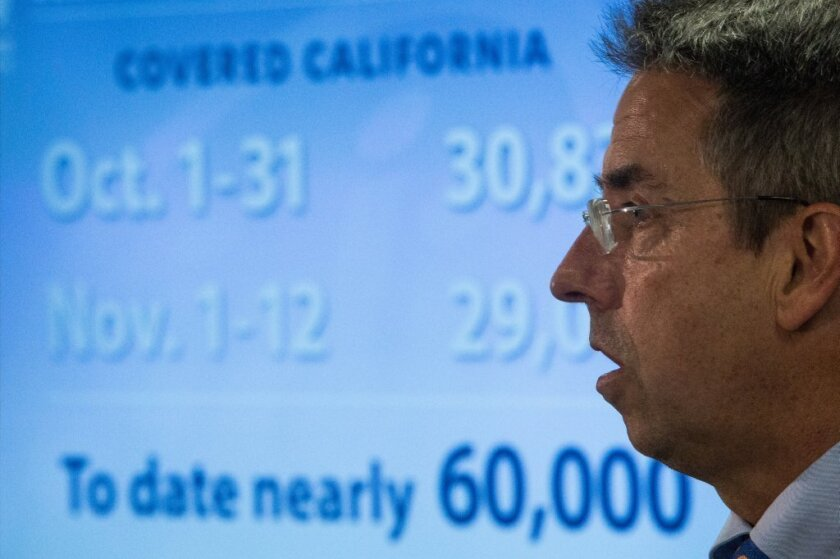 Don't fear the death spiral: Covered California director Peter Lee releases enrollment figures in November.