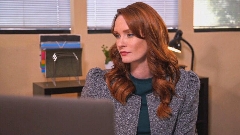 """Jennifer Marshall in """"Mysteries Decoded"""" on The CW."""