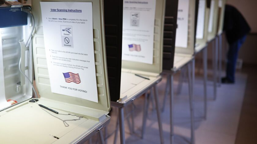 The Berkeley IGS poll surveys likely voters in eight congressional districts.
