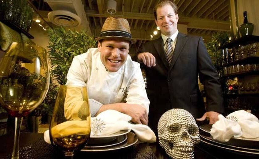 Coming to a neighborhood near you: Chef Brian Malarkey (left) and business partner James Brennan.